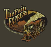 The Pain Express by monochromefrog