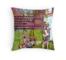 Goddess Uniqueness Colourful Throw Pillow