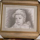 sketch art-portrait of my daughter by hongtao-art