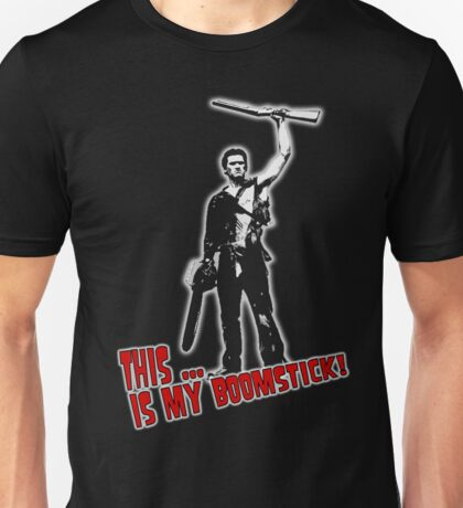 Ash - Evil Dead/Army of Darkness - Boomstick (Updated) Unisex T-Shirt