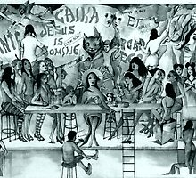 The Last Supper Before The Apocalypse ( In Mono ) by John Dicandia  ( JinnDoW )