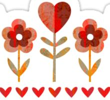 Love Garden - Vintage Sticker