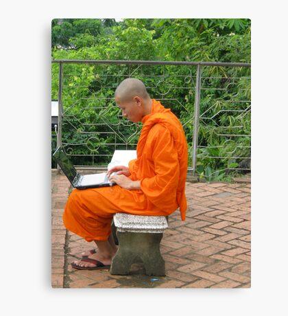 PC monk Canvas Print