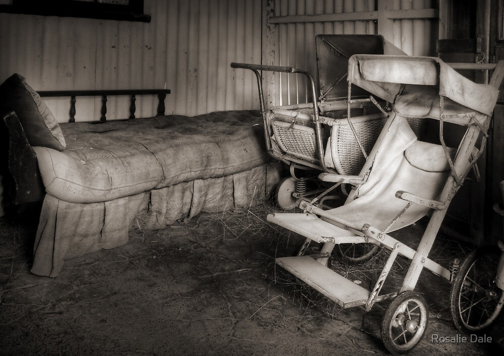 The sleeping quarters ~ Temora Museum NSW by Rosalie Dale