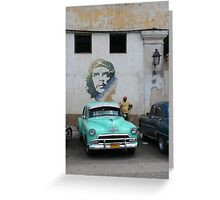 Che Car Greeting Card