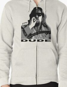 The Dude Zipped Hoodie