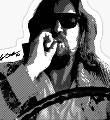 The Dude Sticker