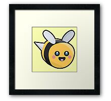 Kawaii Bee Framed Print