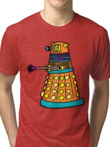 Zack's Little Dalek Tri-blend T-Shirt