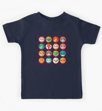 Smiley Faces Kids Tee