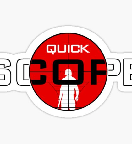 QuickScope Sticker