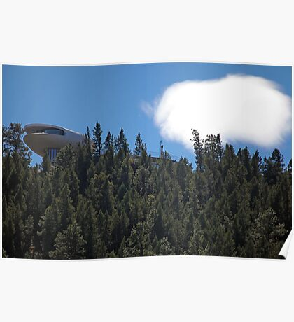 Spaceship House Poster