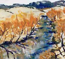 Jamieson in Autumn - Victoria Australia by Margaret Morgan (Watkins)