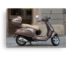 Classic Vespa scooter Canvas Print