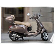 Classic Vespa scooter Poster