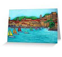 Dubrovnik Regatta Greeting Card