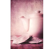 relaxing tea Photographic Print