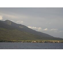 Maalaea Village, Maui Photographic Print