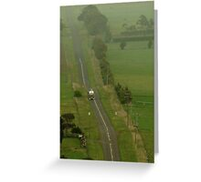 Country Run Greeting Card