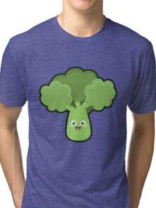Kawaii Broccoli Tri-blend T-Shirt