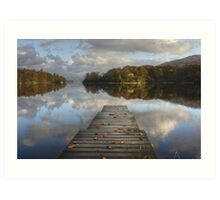 The Jetty In Autumn Art Print