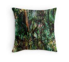 Equatorial Rain Throw Pillow