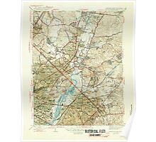 USGS Topo Map Maryland Washington East 257237 1945 31680 Poster