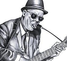 Guitar man by Margaret Sanderson