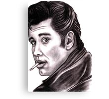 Grease is the word Canvas Print