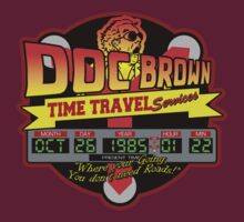 Doc E. Brown Time Travel Services by McPod