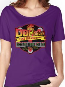Doc E. Brown Time Travel Services Women's Relaxed Fit T-Shirt