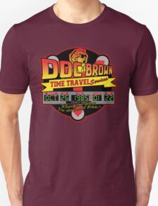 Doc E. Brown Time Travel Services T-Shirt
