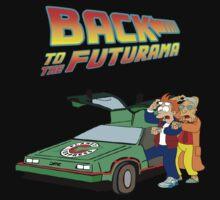 Back to the Future Futurama Kids Clothes