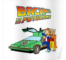 Back to the Future Futurama Poster