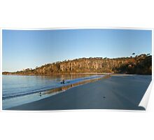 Cockle Creek beach - Tasmania Poster