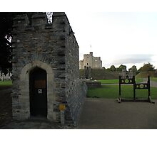 The Keep Cardiff Castle Photographic Print