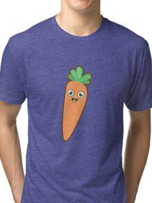 Kawaii Carrot Tri-blend T-Shirt