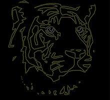 "Tiger Tron by "" RiSH """