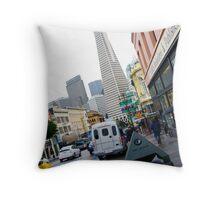Frisco San Francisco 3 Throw Pillow