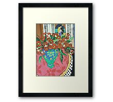 """"""" Red gums and Romance"""" Framed Print"""