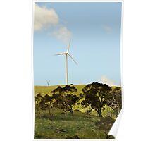 Wind Farm Carcoar NSW Poster