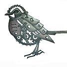 mechanical bird by Lisa Stead