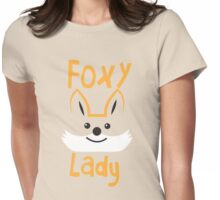 Foxy Lady Womens Fitted T-Shirt
