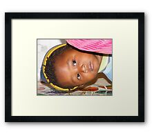 A Childs View - 3 Framed Print