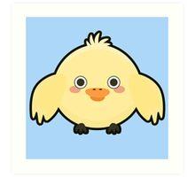 Kawaii Chick Art Print