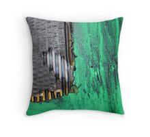 crow monolith 3 Throw Pillow