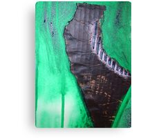 crow monolith 9 Canvas Print