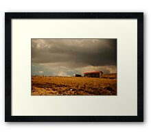 There Will Be Flood Framed Print