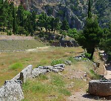 The Stadion of the Pythian Games in Delphi by HELUA