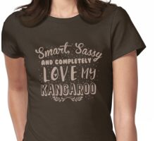 Smart, Sassy and completely love my KANGAROO Womens Fitted T-Shirt